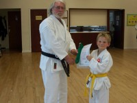 James Promoted to 6th Kyu