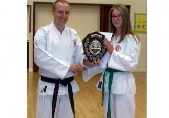 Sophia Awarded Cadet of the Year 2013