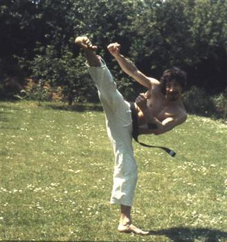 Sid Wise, Former Karate Instructor - Jodan Yoku Geri