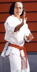 Yoshinao Nanbu, Founder of Sankukai Karate