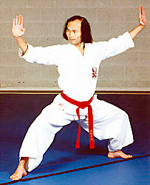 Derby Karate Club - Picture of Nanbu, Founder of Sankukai Karate