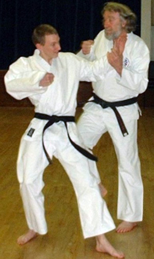 Reg Andrew - Special Move - Karate Club in Ilkeston, Derby