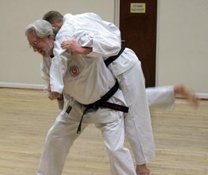 Reg Andrew - Throw - Karate Club in Ilkeston, Derby