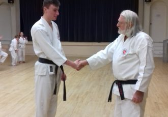 Harrison Ditheridge receives his 2nd Dan (NIDAN)