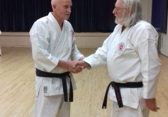 Mike Ellis receives his 2nd Dan (NIDAN)